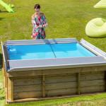 Miami Pool Set, Pool mit Abdeckung