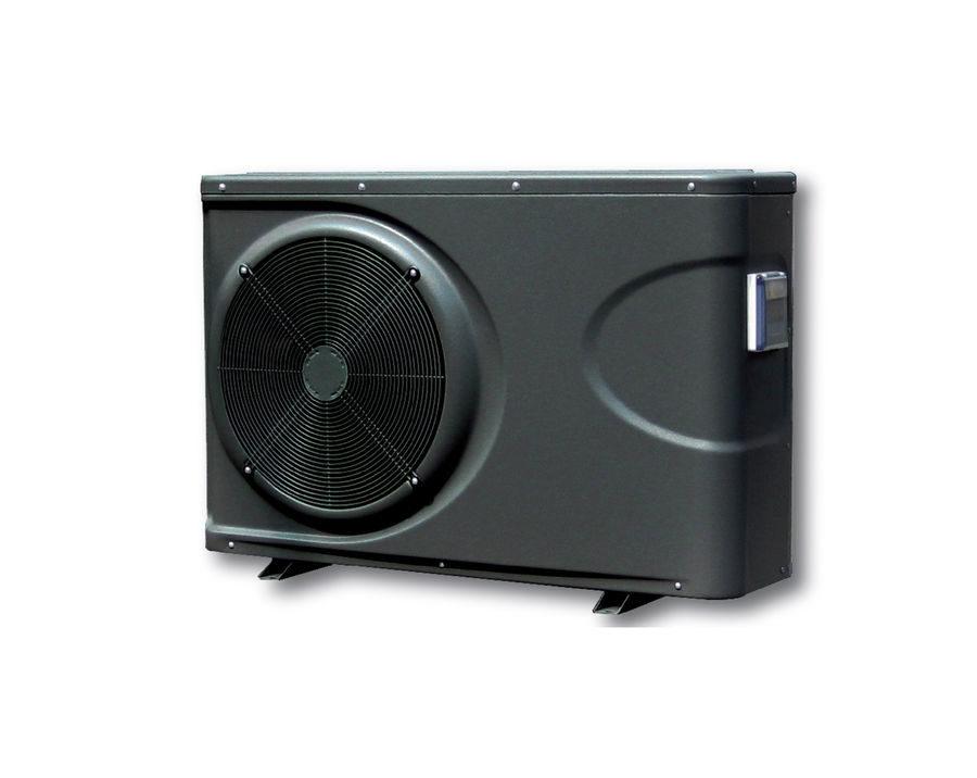 das Bild zeigt eine Inverter Pool Wärmepumpe neuester Technologie